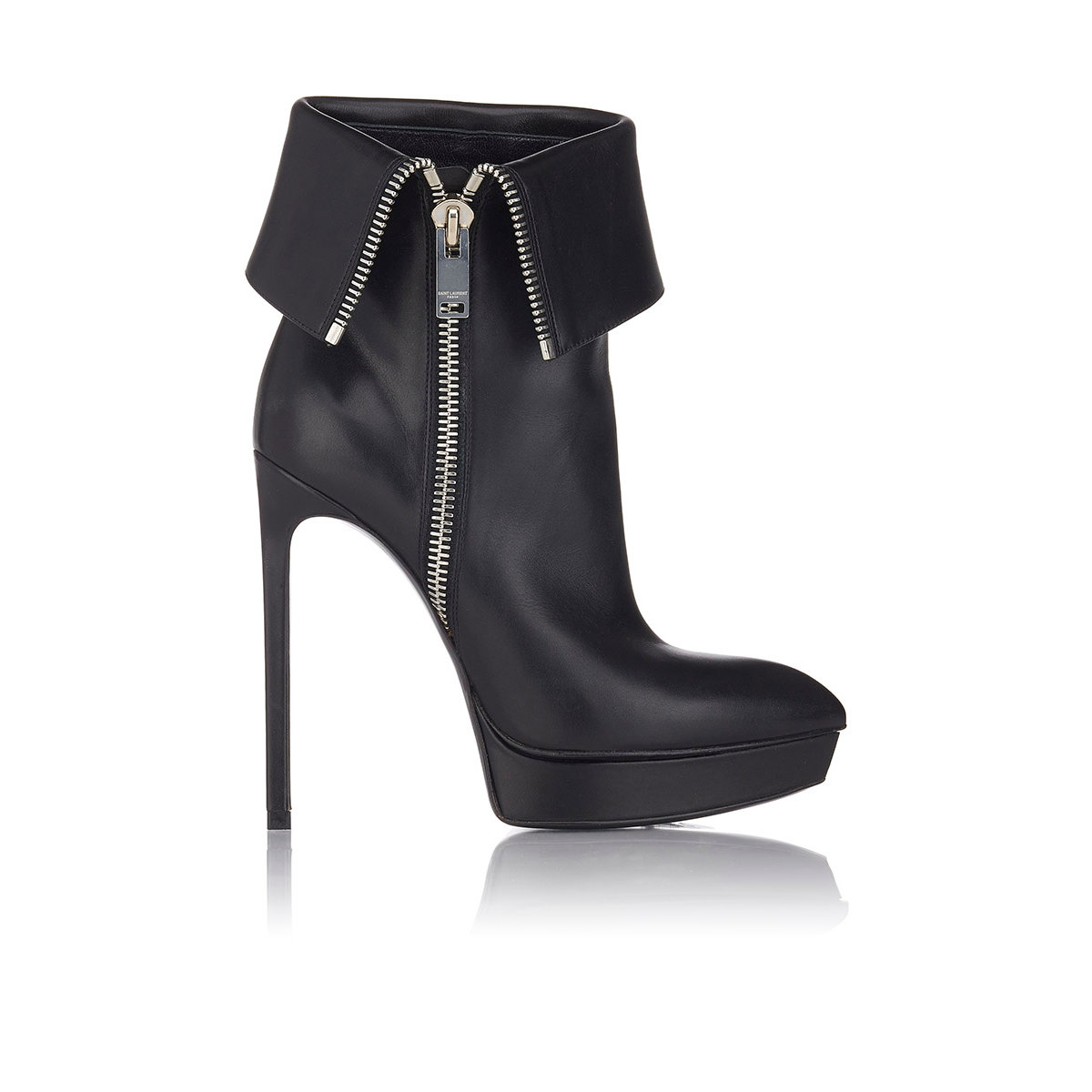 Saint Laurent Janis Embossed Ankle Boots free shipping affordable bOj2ckw