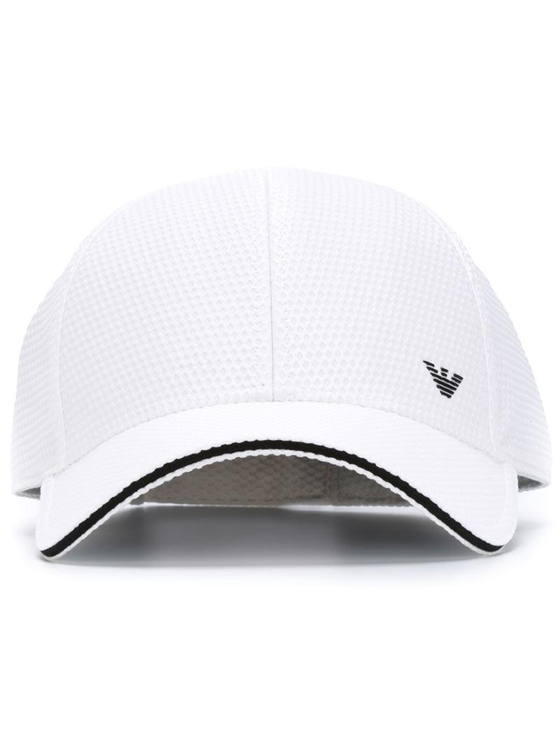 5fc858a10a4 Lyst - Emporio Armani Baseball Cap in White for Men