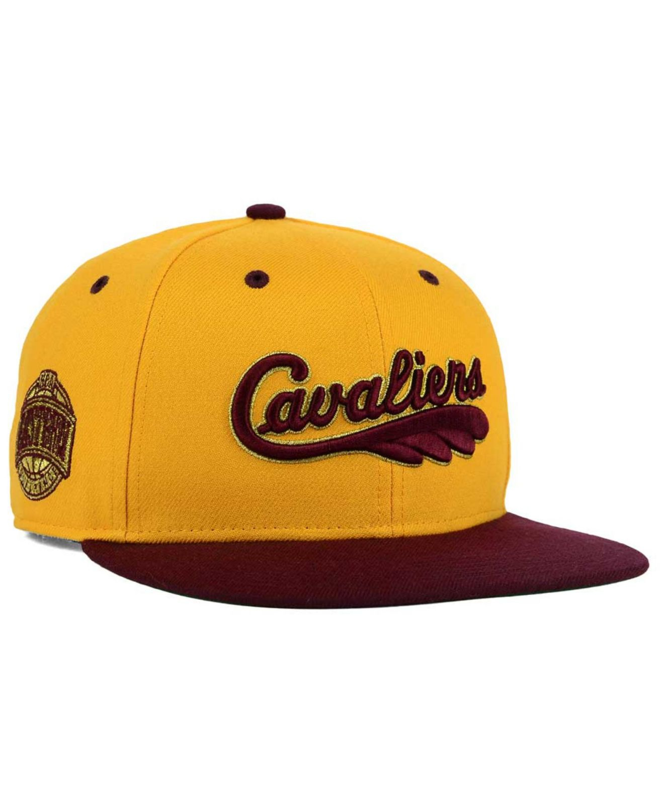 buy popular 0b42a dbeee 47 Brand Cleveland Cavaliers Hwc Gold Rush Snapback Cap in Yellow for Men -  Lyst
