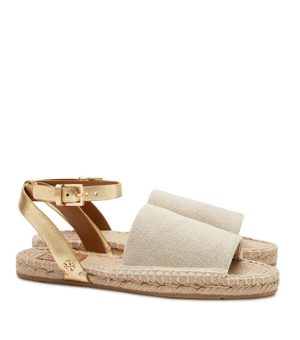 buy cheap from china Tory Burch Crossover Espadrille Sandals new cheap price free shipping geniue stockist 2014 unisex THaAGRg