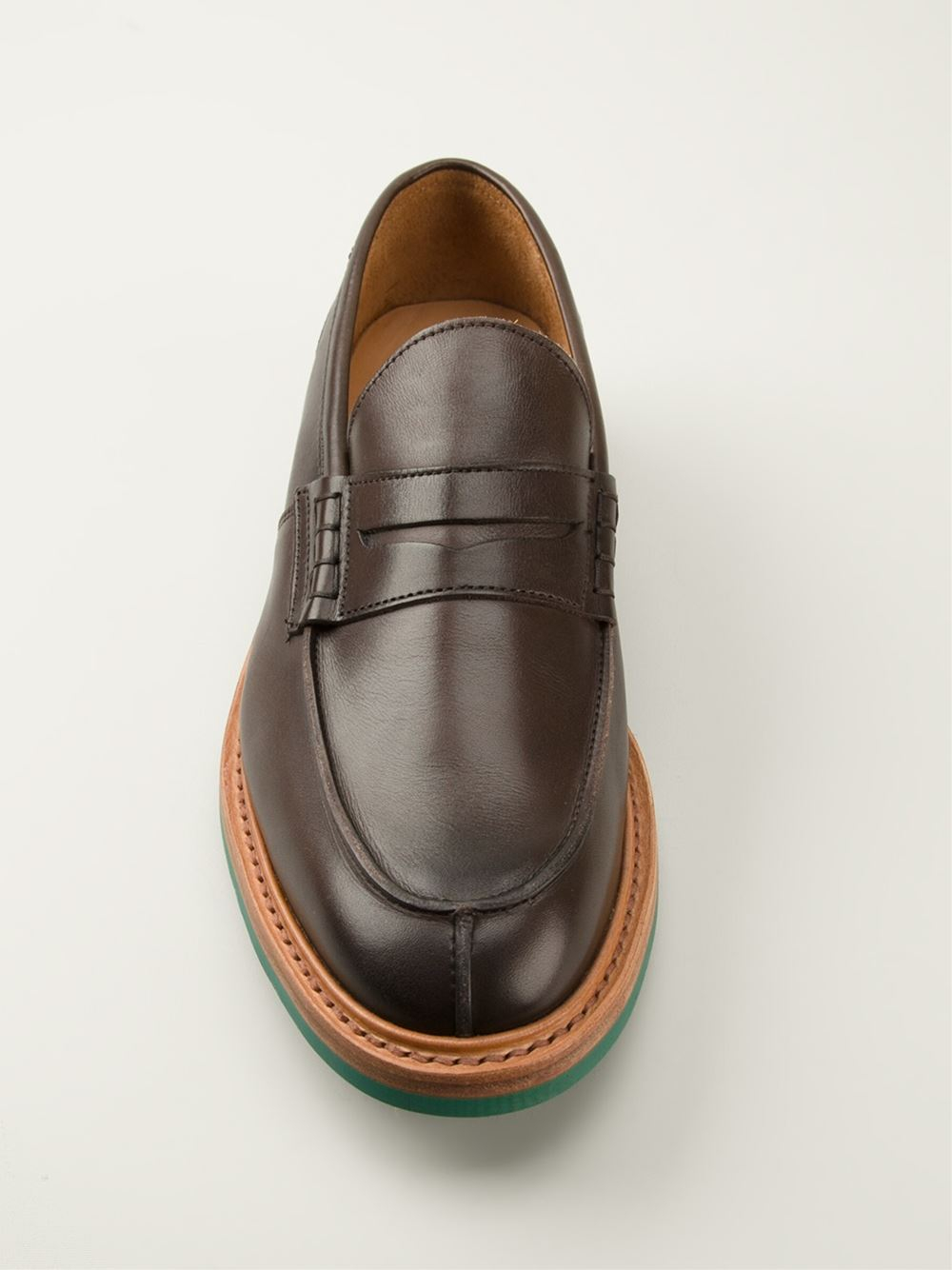 TRICKERS Adam penny loafers O71nkH