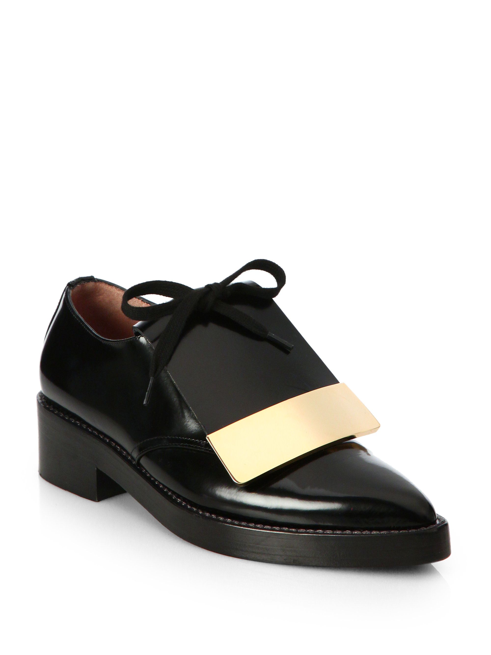 Marni Leather Pointed-Toe Oxfords amazon for sale discount extremely latest outlet many kinds of online store IumER9