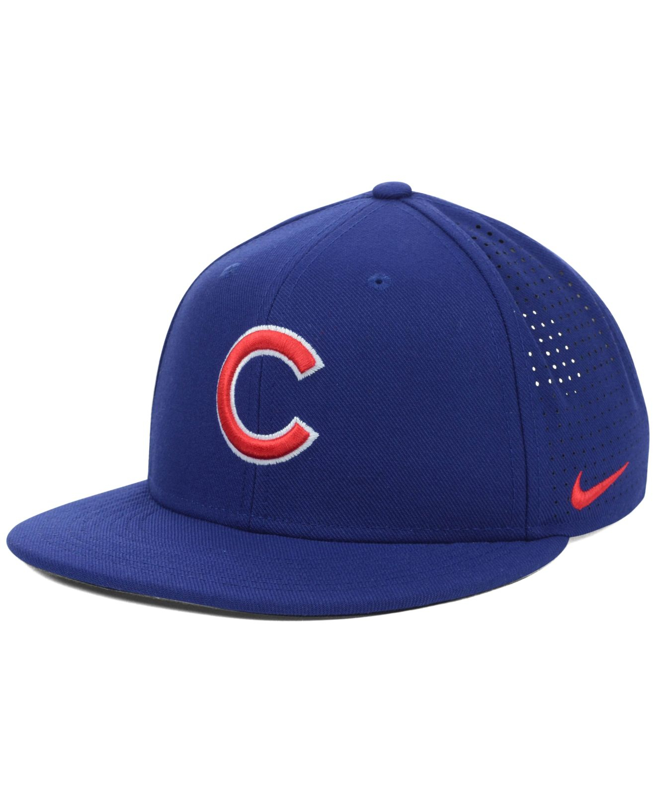 618cd2b52ab2e ... coupon for lyst nike chicago cubs dri fit vapor adjustable cap in blue  for men aa658