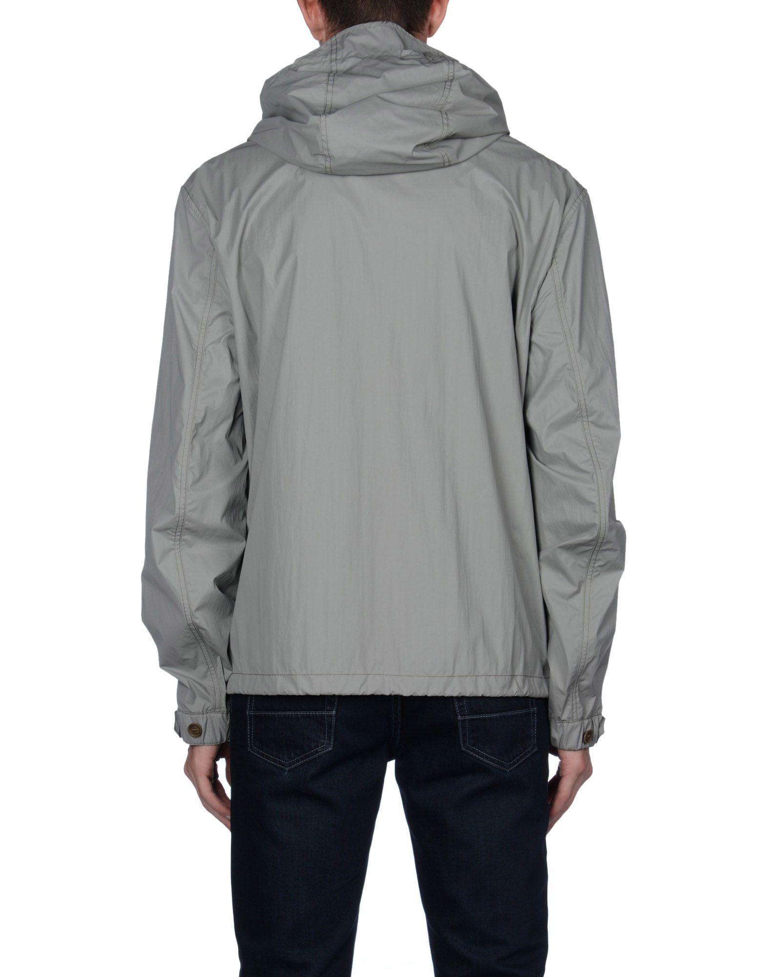 burberry brit jacket in gray for men grey lyst. Black Bedroom Furniture Sets. Home Design Ideas