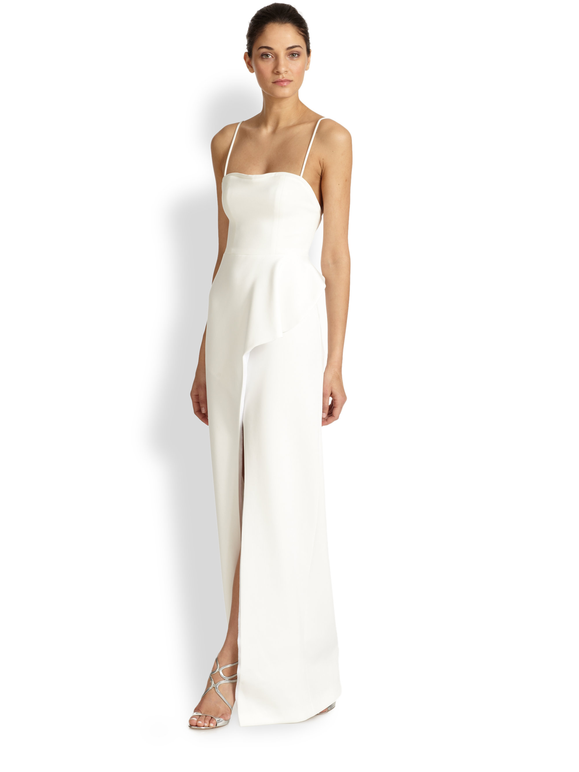 Lyst - Black Halo Eminence Gown in White