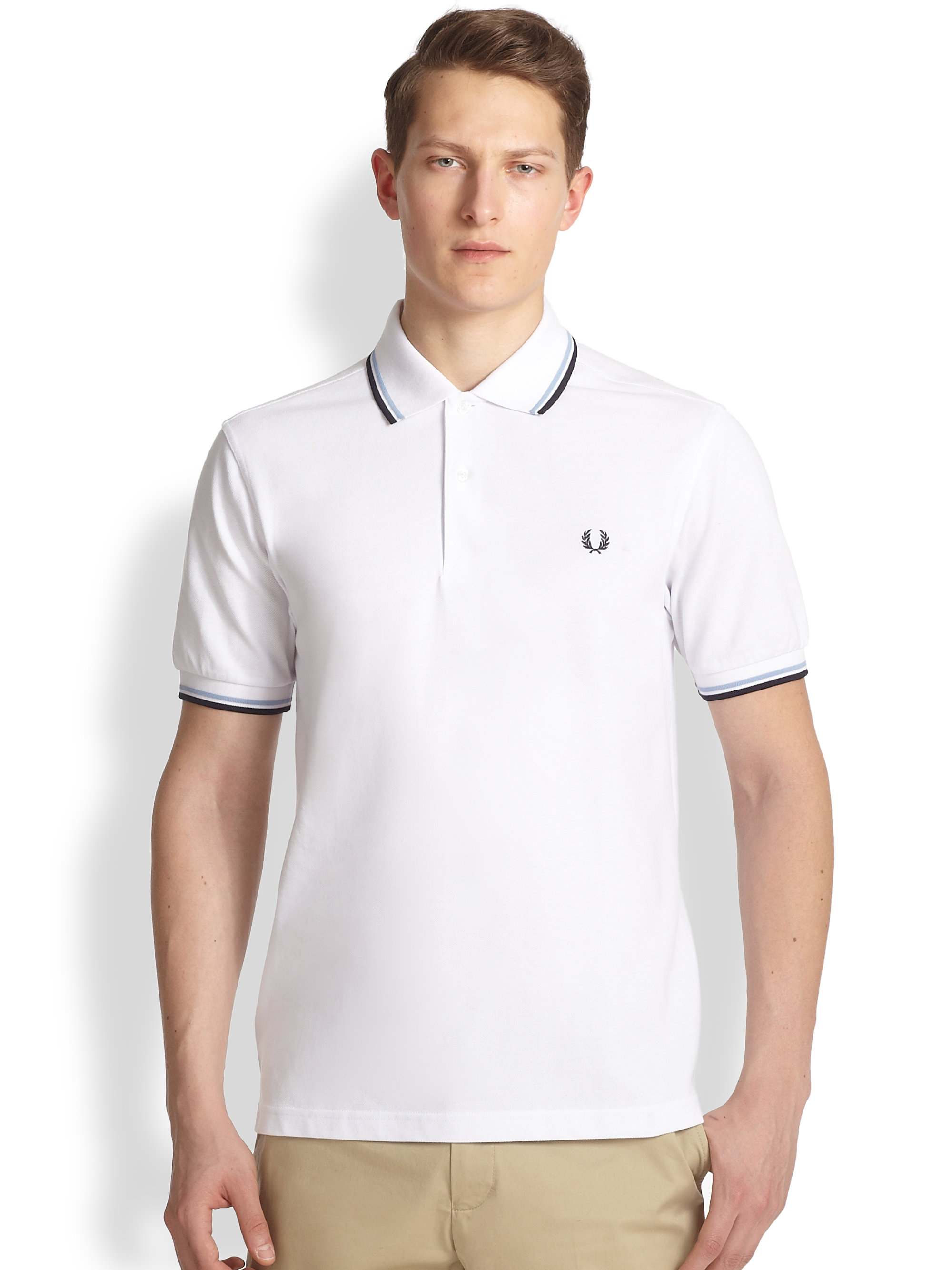 fred perry white shirt. Black Bedroom Furniture Sets. Home Design Ideas