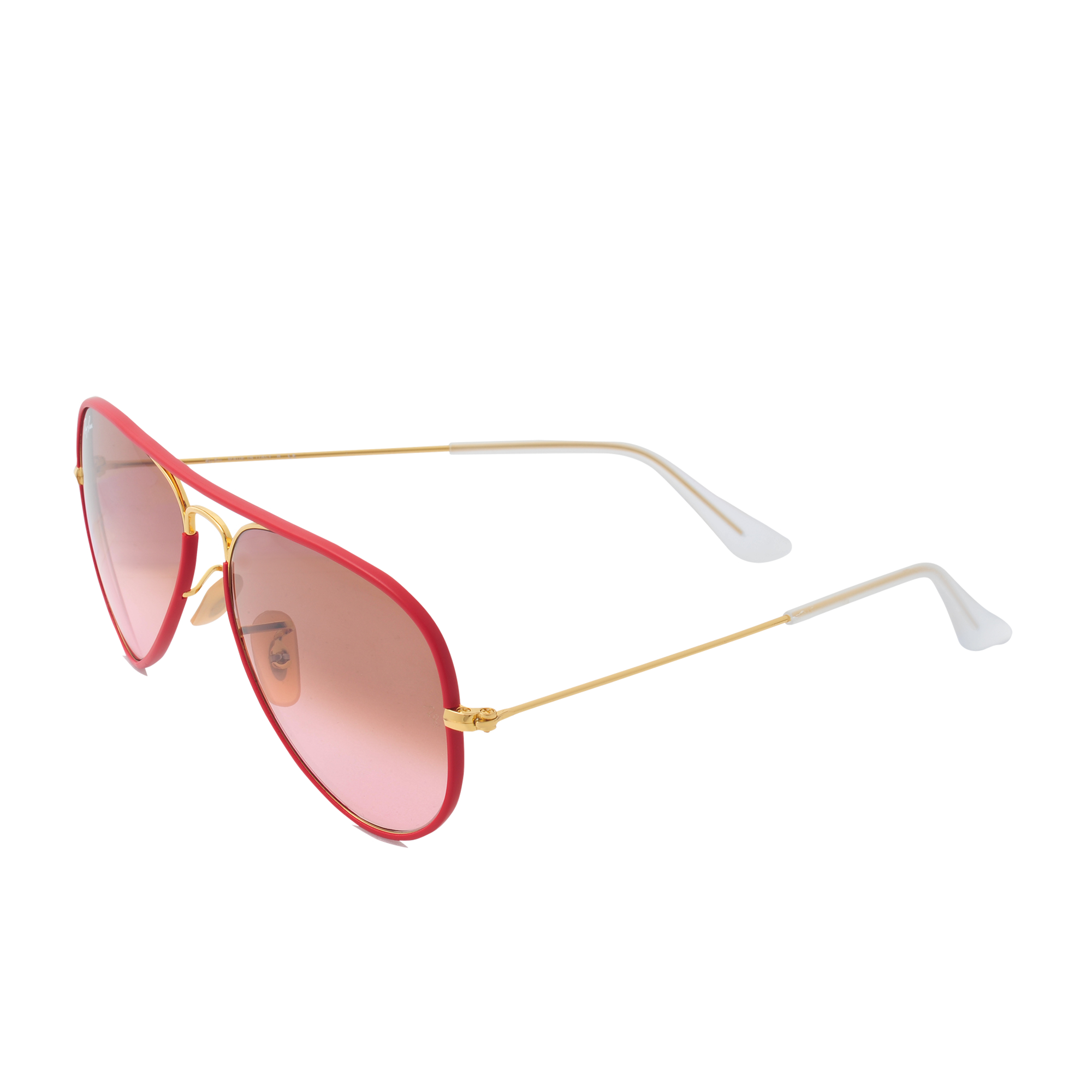 ray ban aviator sunglasses in red lyst. Black Bedroom Furniture Sets. Home Design Ideas