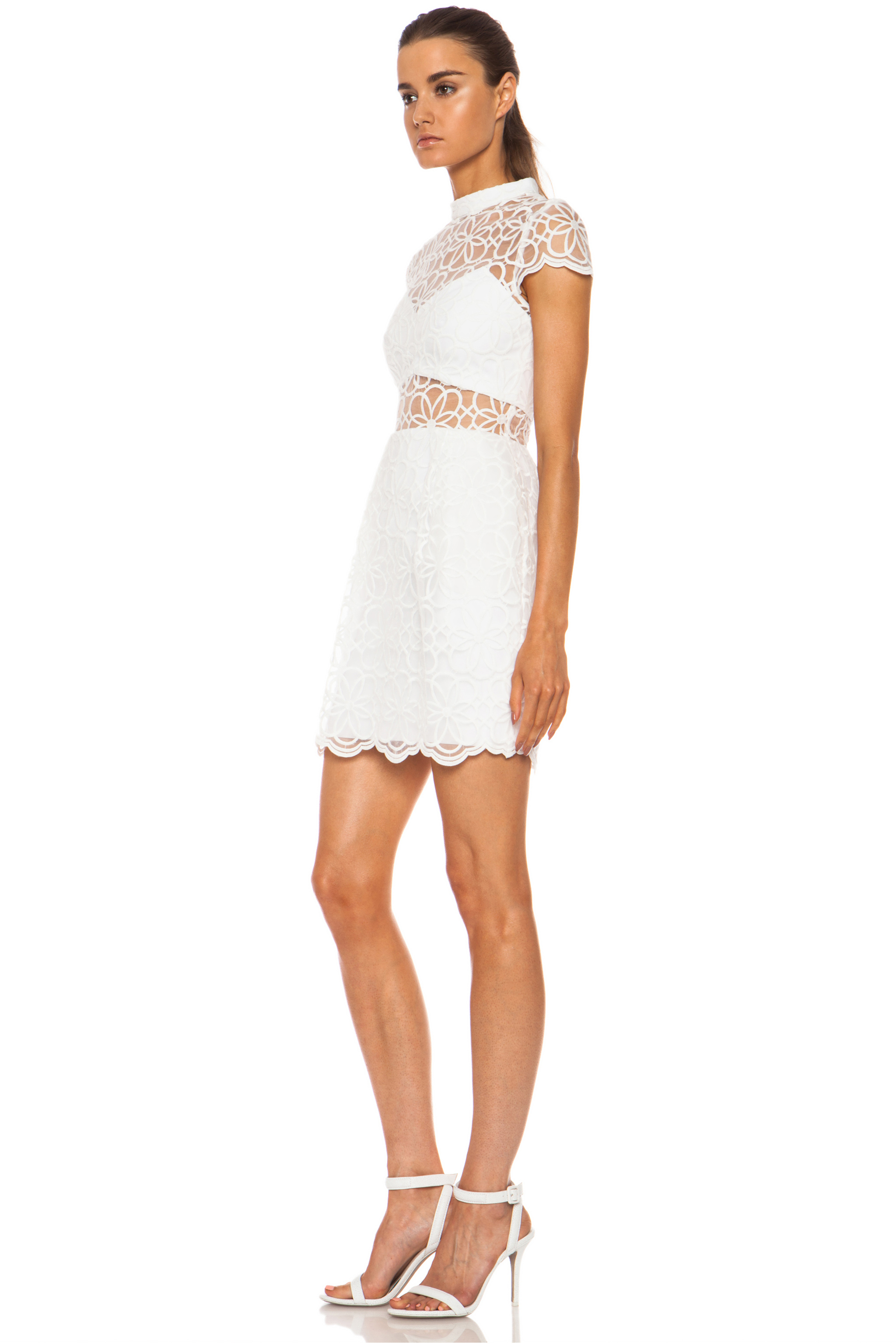 Nylon Mini Dress