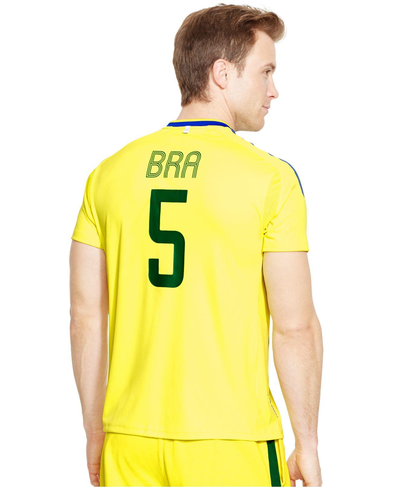 Polo ralph lauren polo sport brasil jersey t shirt in for Ralph lauren polo jersey shirt