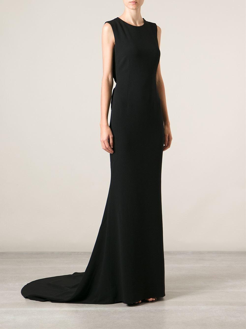 Stella Mccartney Evening Gown in Black - Lyst