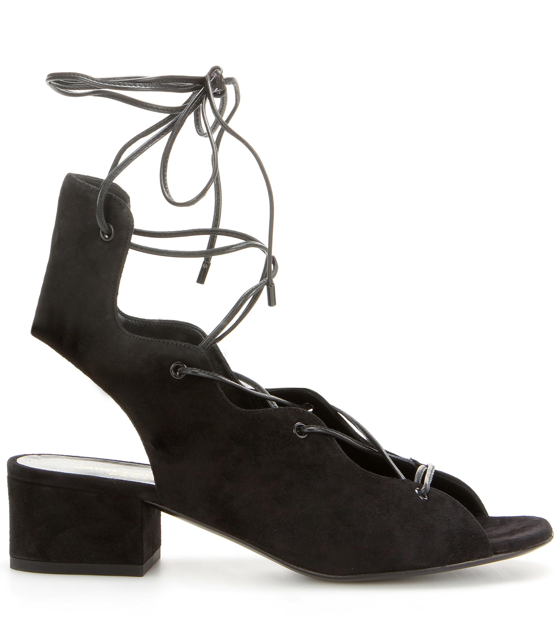 Black newborn sandals - Gallery