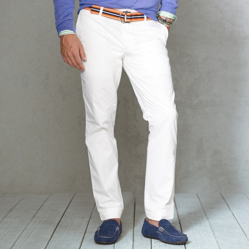 Lyst Polo Ralph Lauren Straightfit Chino Pant In White
