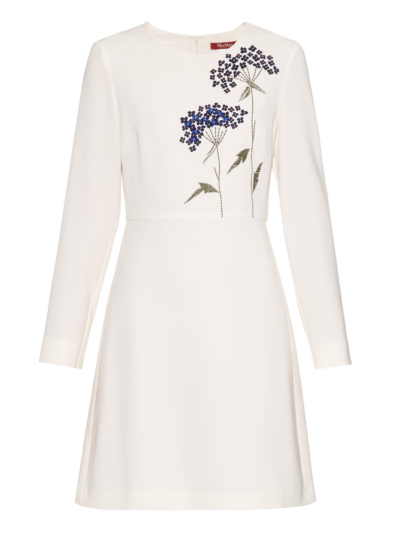 Lyst Max Mara Studio Pool Dress In White