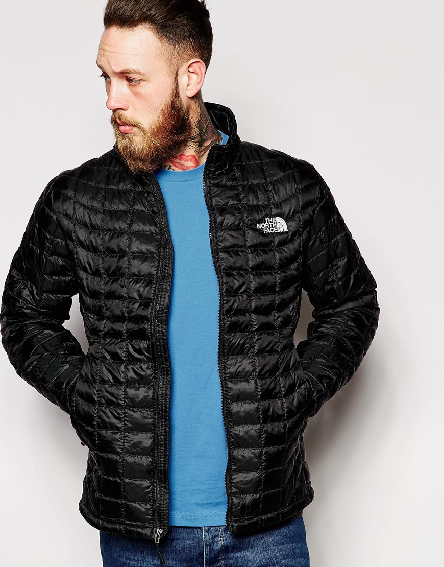 Lyst The North Face Thermoball Zip Up Jacket In Black