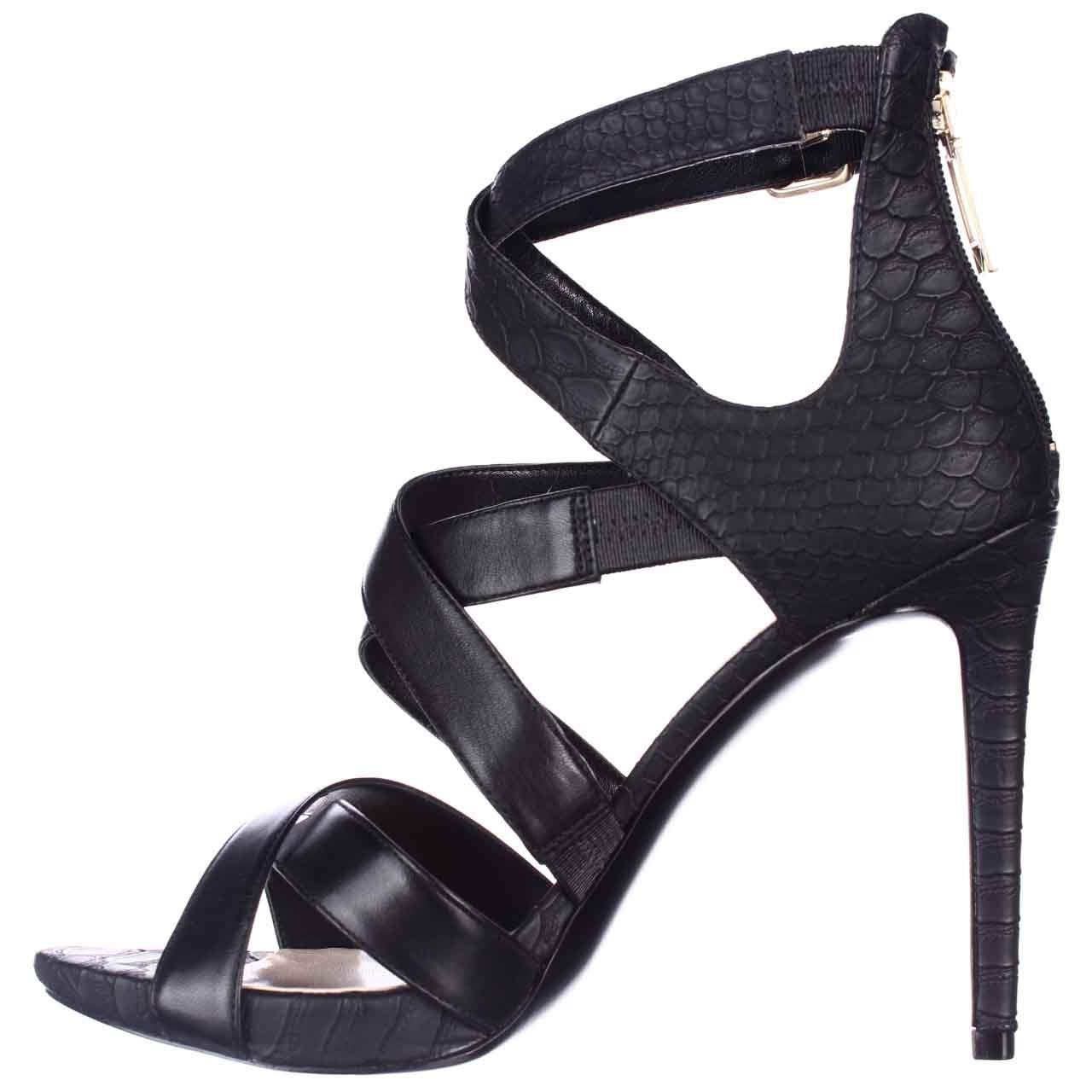 4c426b50a3f Lyst - Guess Abby Strappy Heels Dress Sandals in Black