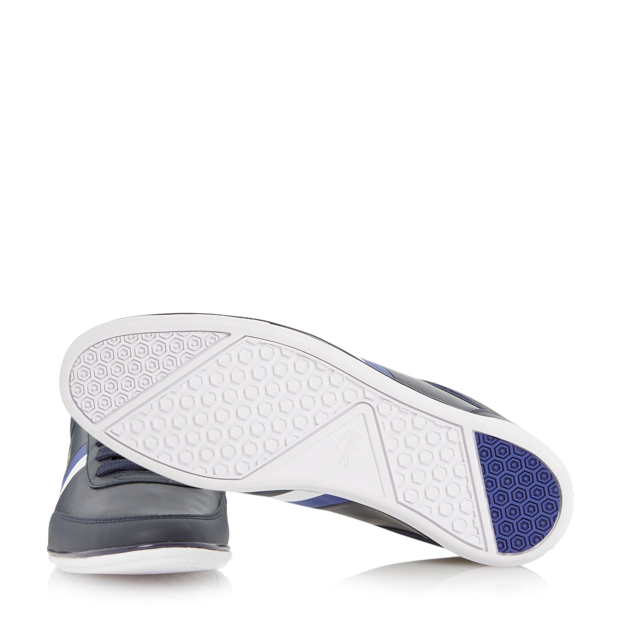 39cd76eb3f6e Lyst - Lacoste Giron Pri Lace Up Casual Trainers in Blue