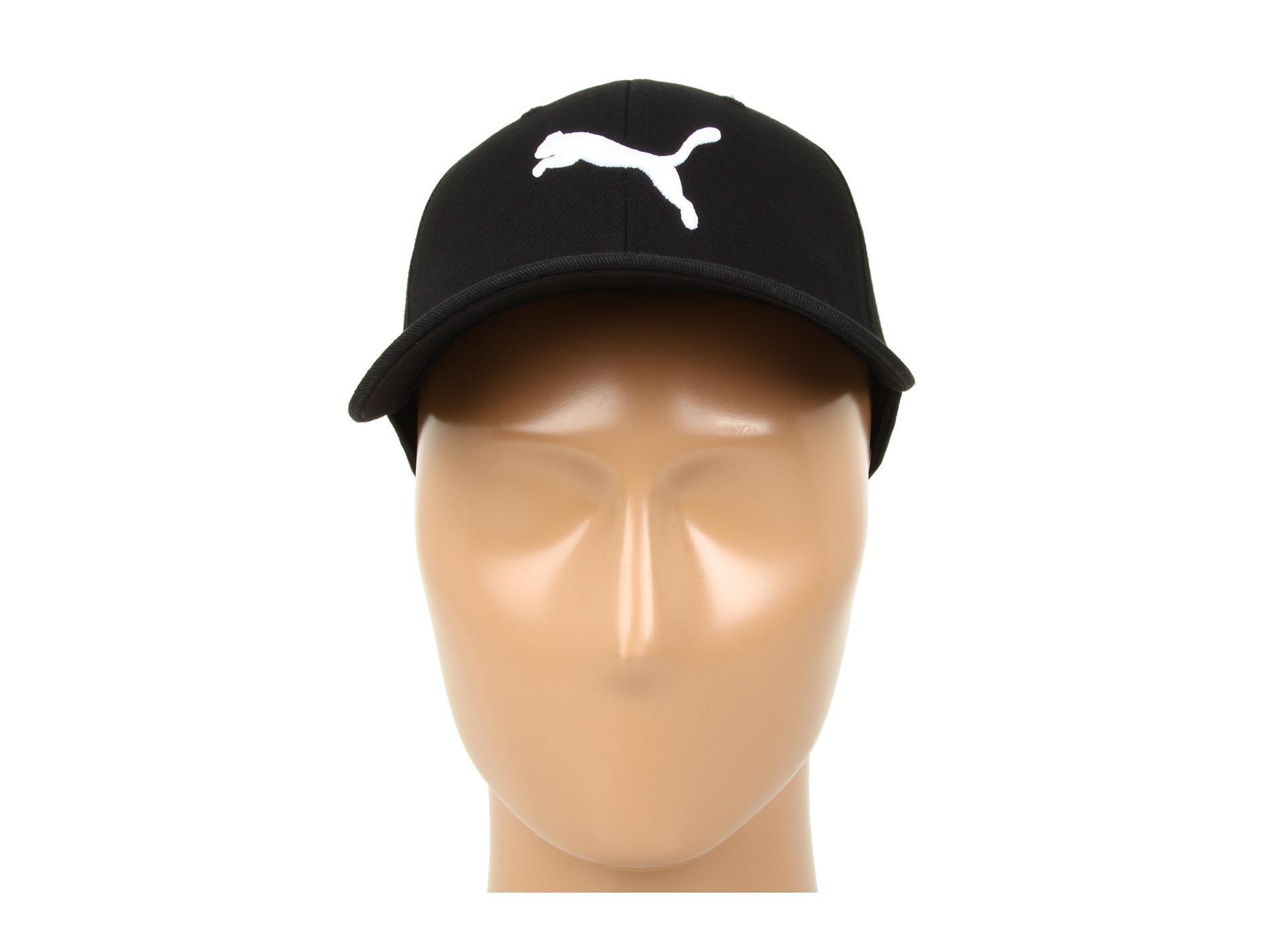 Lyst - PUMA 9 Lives Flex Fit Cap in Black for Men 974bcb72f210