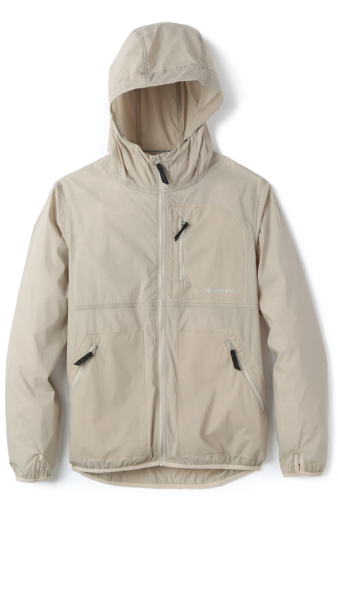 Snow peak Rain 'N' Wind Resistant Jacket in Natural for Men | Lyst