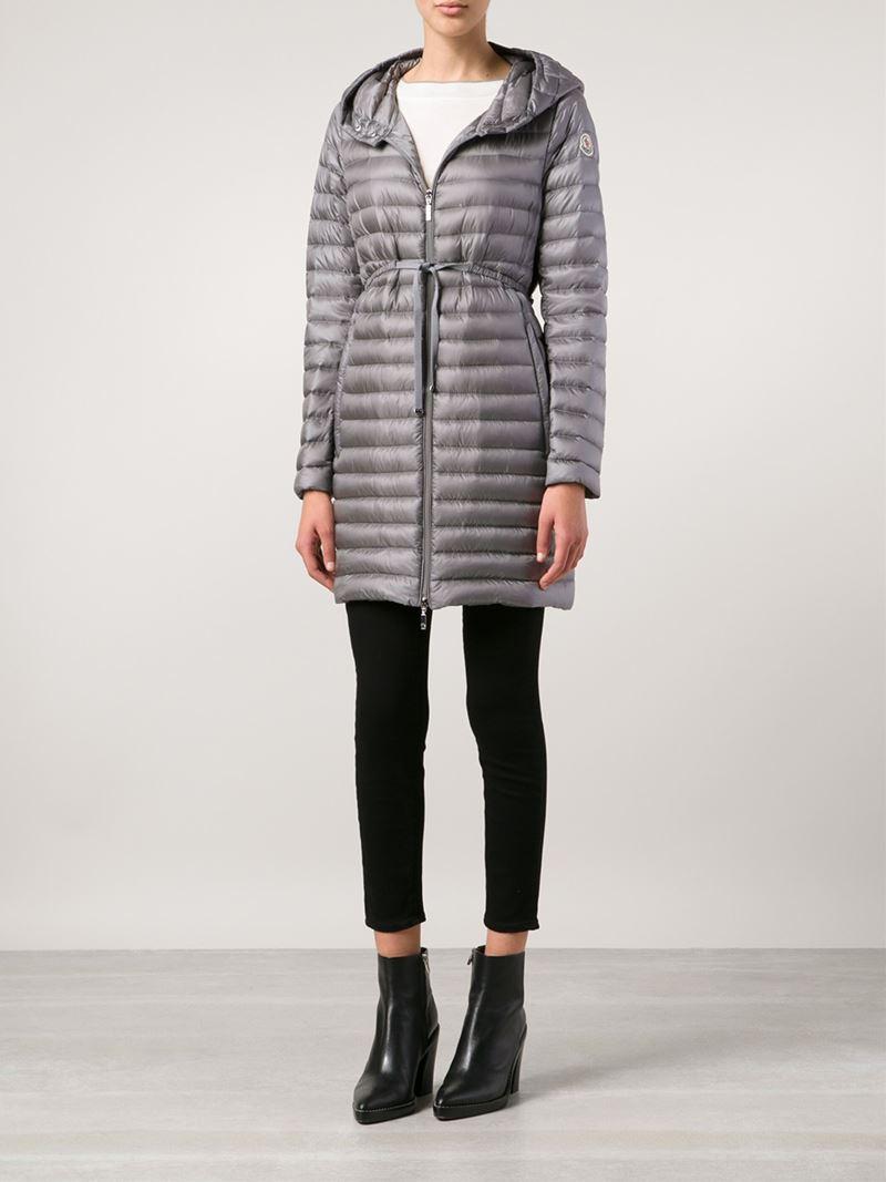 moncler barbel quilted shell coat for sale. Black Bedroom Furniture Sets. Home Design Ideas