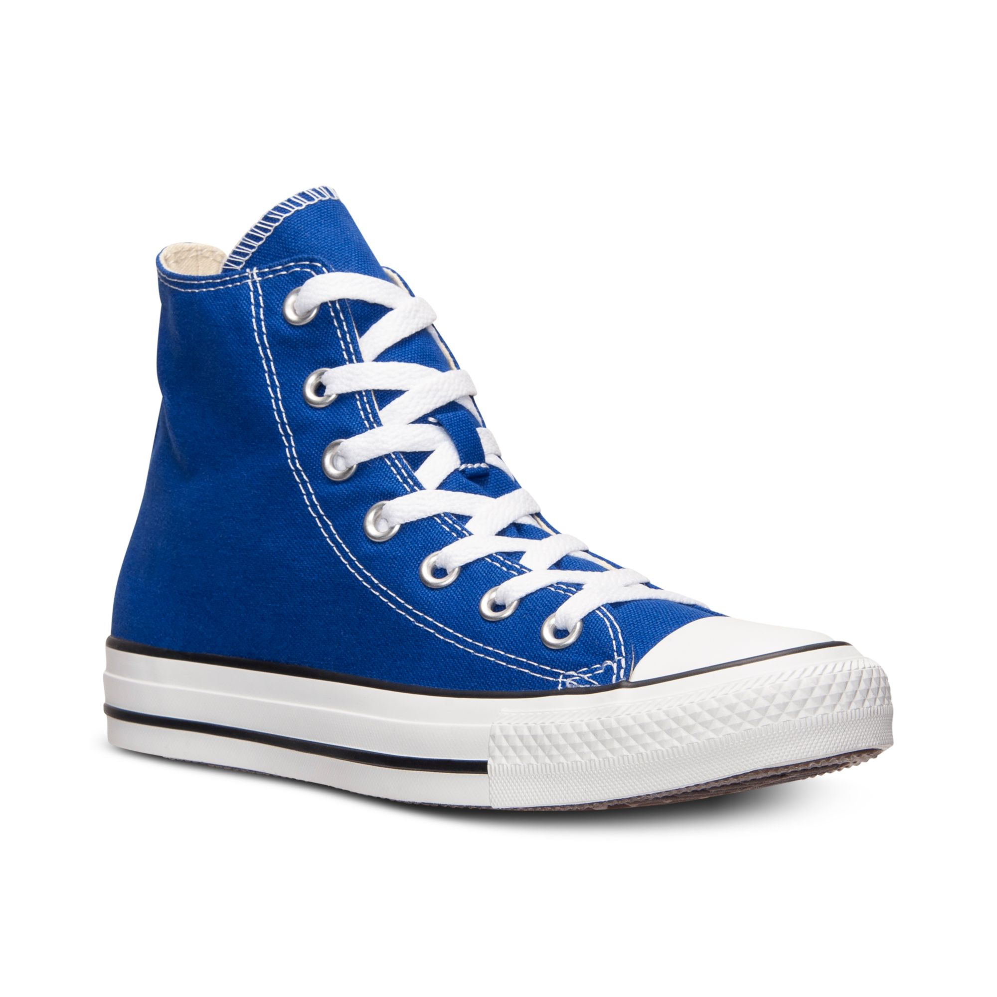 Lyst - Converse Mens Chuck Taylor High Top Casual Sneakers From ... 0a44446b7