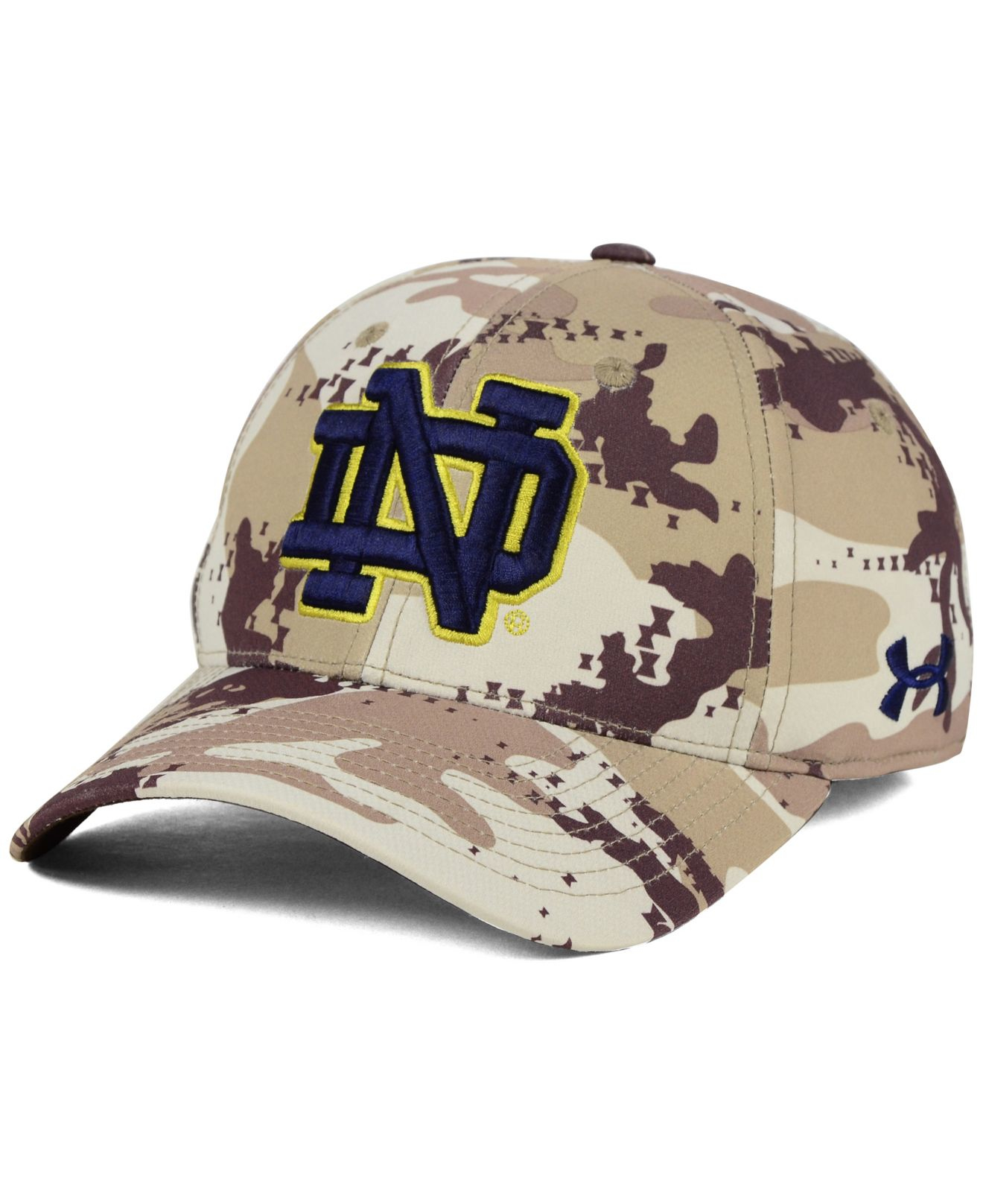 hot sales ce0ae d940e ... ireland lyst under armour notre dame fighting irish camo stretch cap  jpg 1320x1616 red notre dame