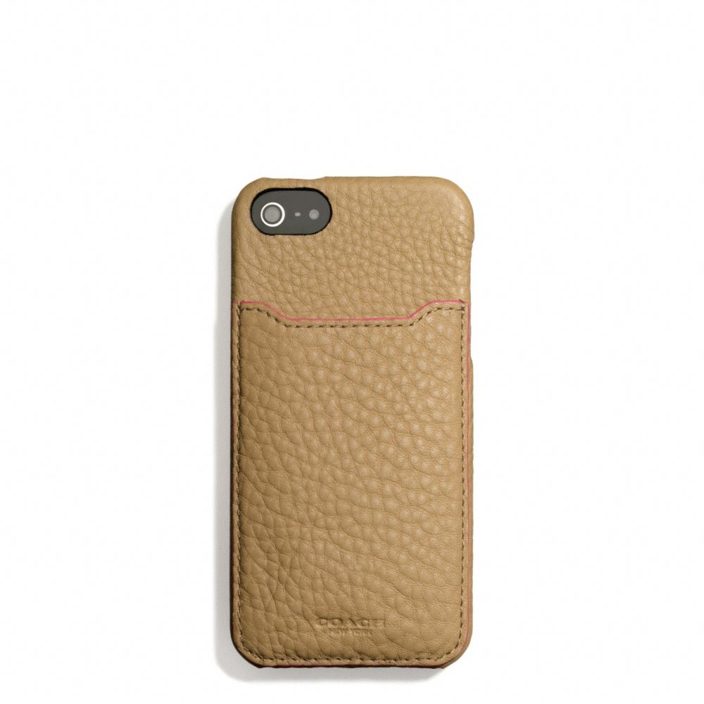 Lyst - Coach Boxed Bleecker Pocket Iphone 5 Case in Edgepaint ...