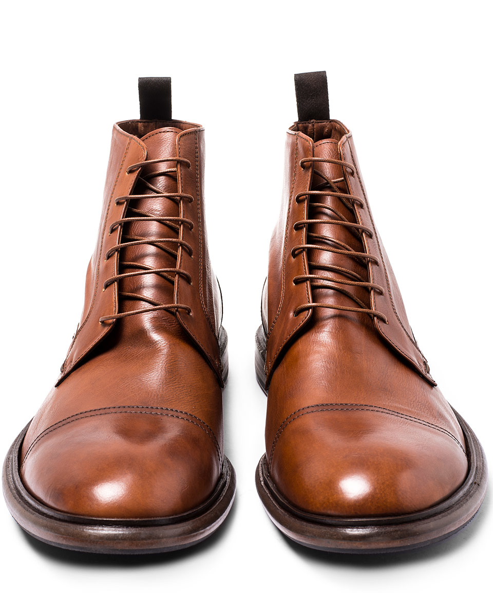 Paul Smith Leather Lace Ups