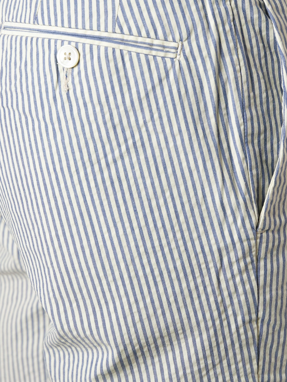 Polo ralph lauren Striped Shorts in Blue for Men | Lyst