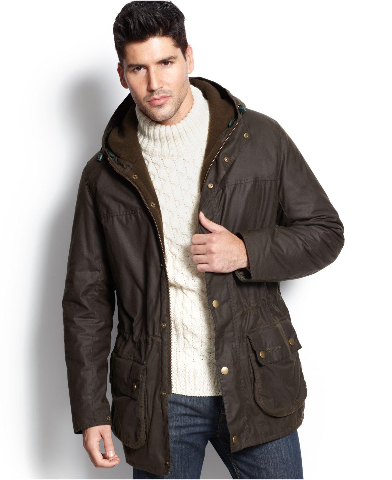 barbour winter durham jacket in green for men lyst #1: barbour green winter durham jacket product 1 0 normal