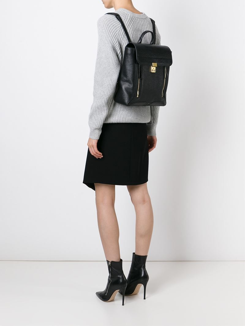 734a504c7b 3.1 Phillip Lim  pashli  Backpack in Black - Lyst