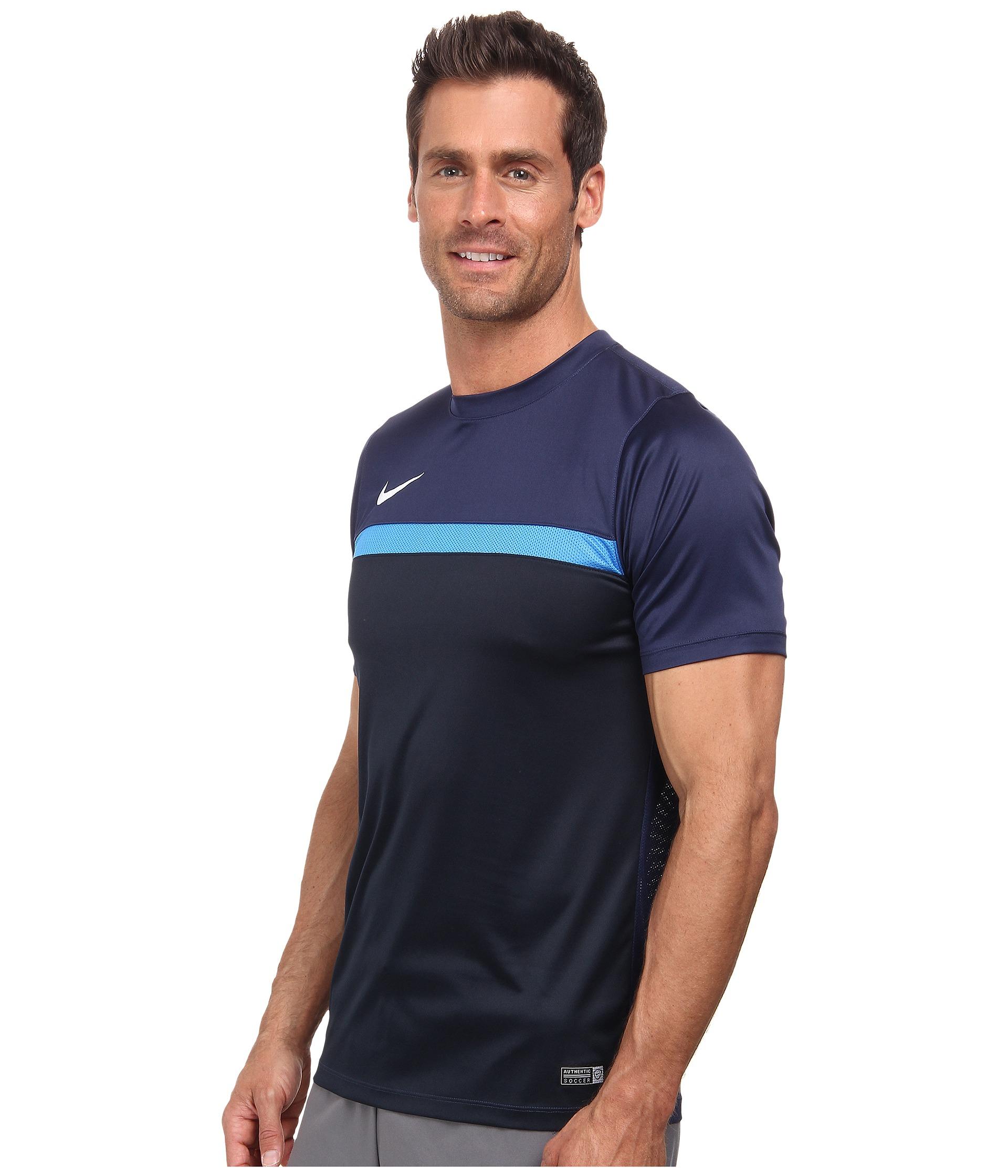 1e9144bdd Nike Academy S/s Training Top 1 in Blue for Men - Lyst