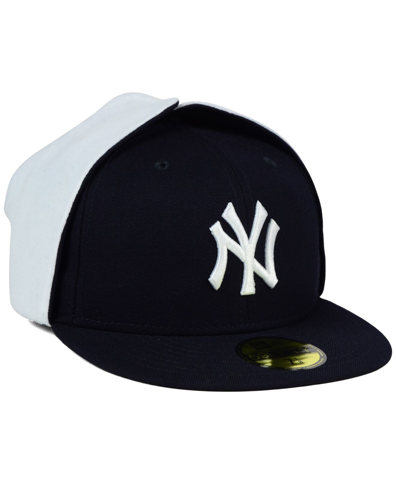 1ad03849 KTZ New York Yankees Dog Ear 59fifty Cap in Blue for Men - Lyst