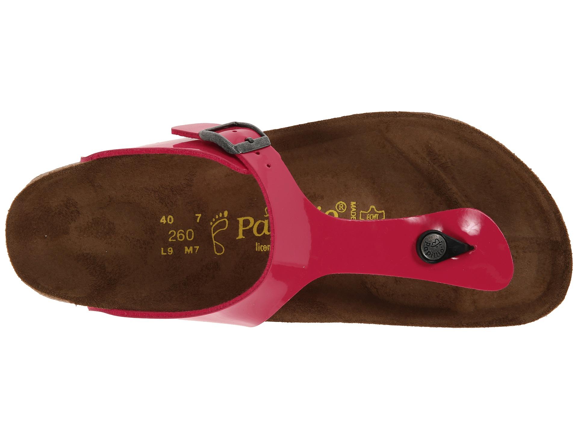 97ef34ba0db9 Lyst - Birkenstock Gizeh Platform By Papillio in Pink