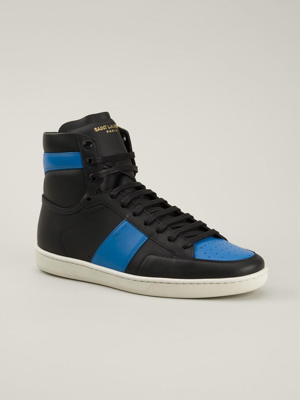 Saint laurent 'court Classic' Sneakers in Black for Men | Lyst