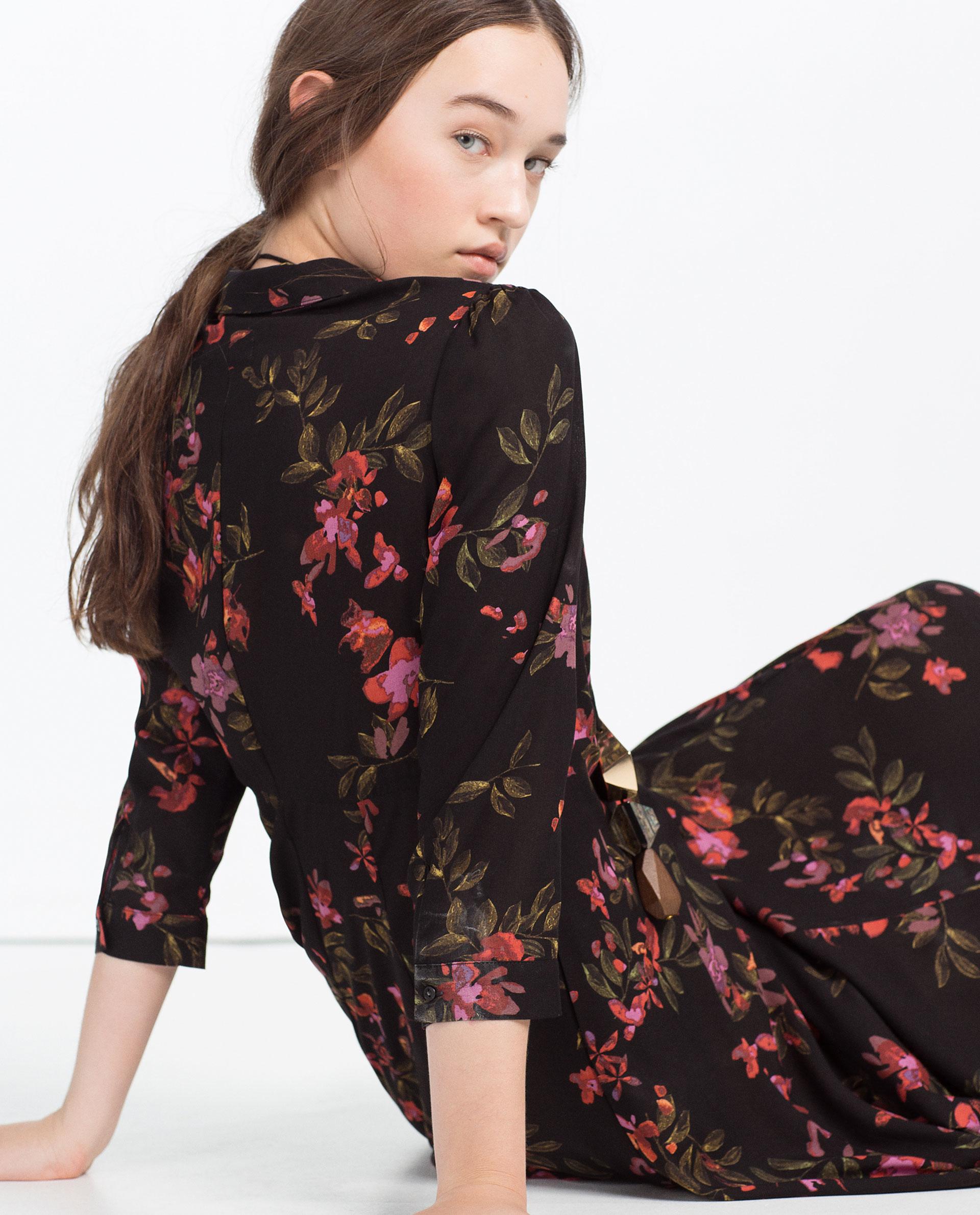 J. Jill Sale Zara floral maxi dress...