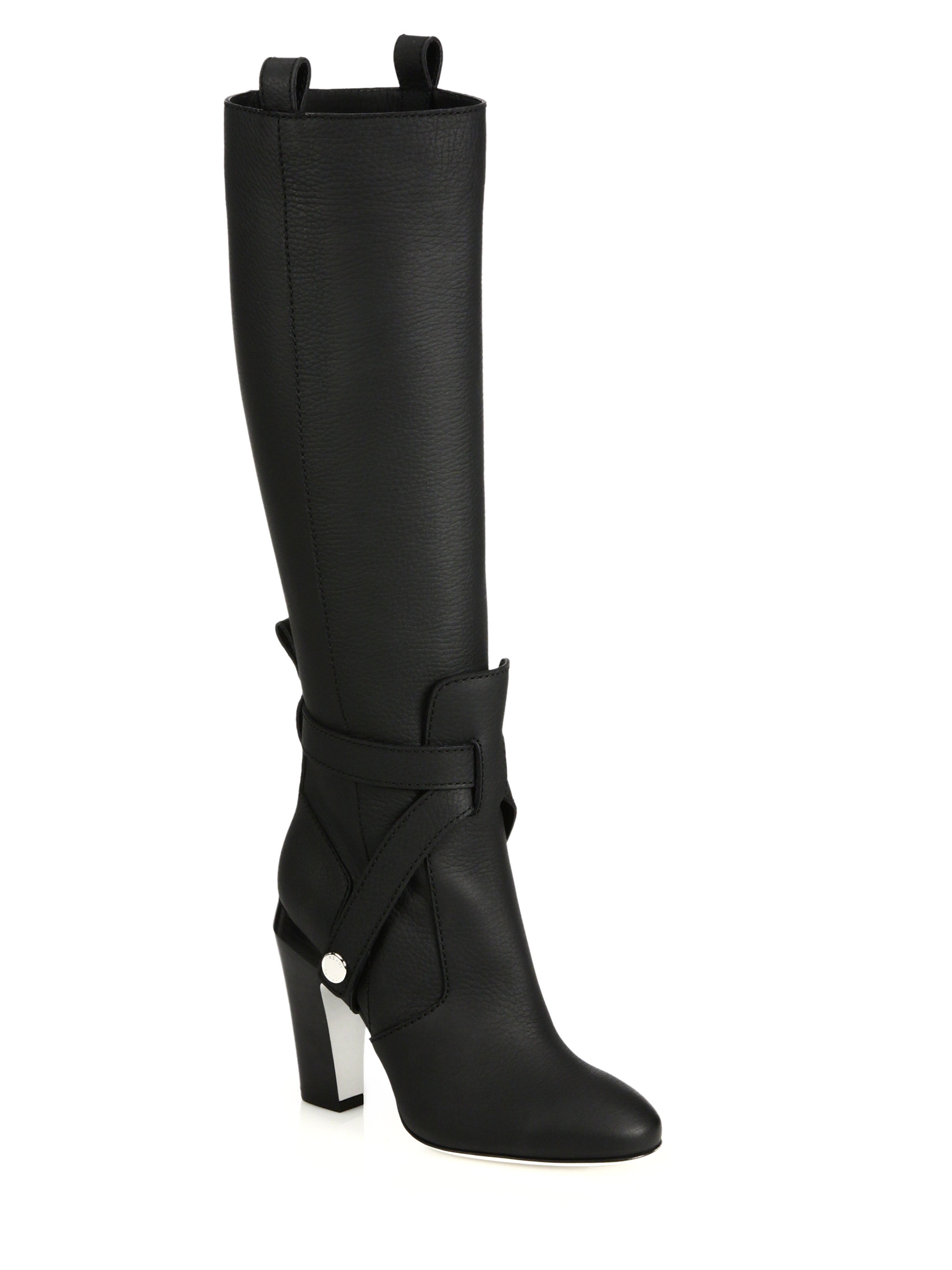 discounts cheap price discount Manchester Fendi Suede Knee-High Boots discount shop offer visa payment cheap online UONqqH
