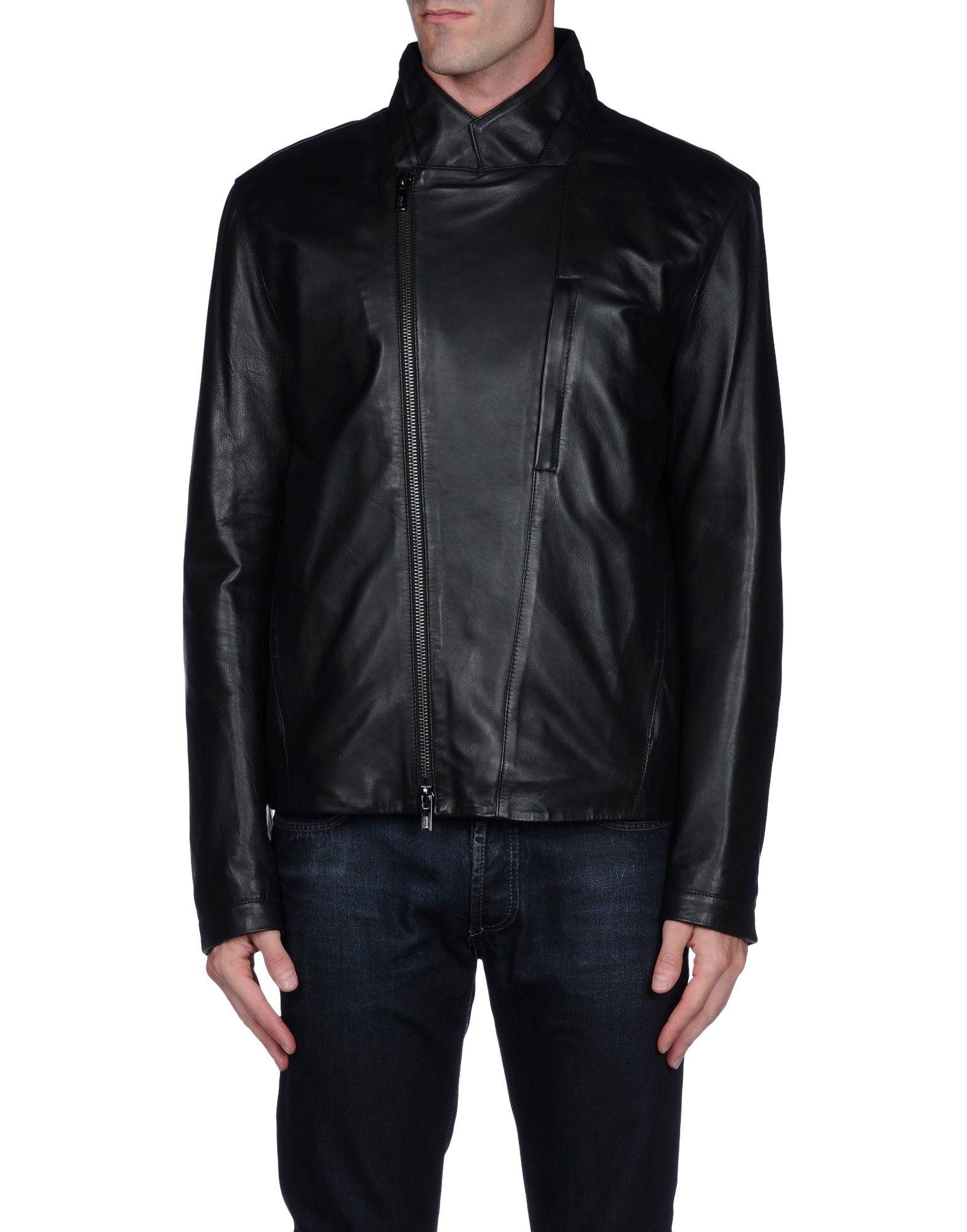 Armani Jacket in Black for Men | Lyst Giorgio Armani Jacket