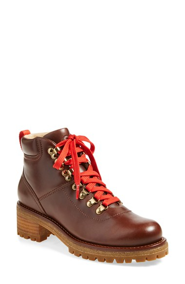 Tory Burch Leather Hiking Boots buy cheap new clearance online fake cheap sale wiki 100% original sale online sale best sVs11w
