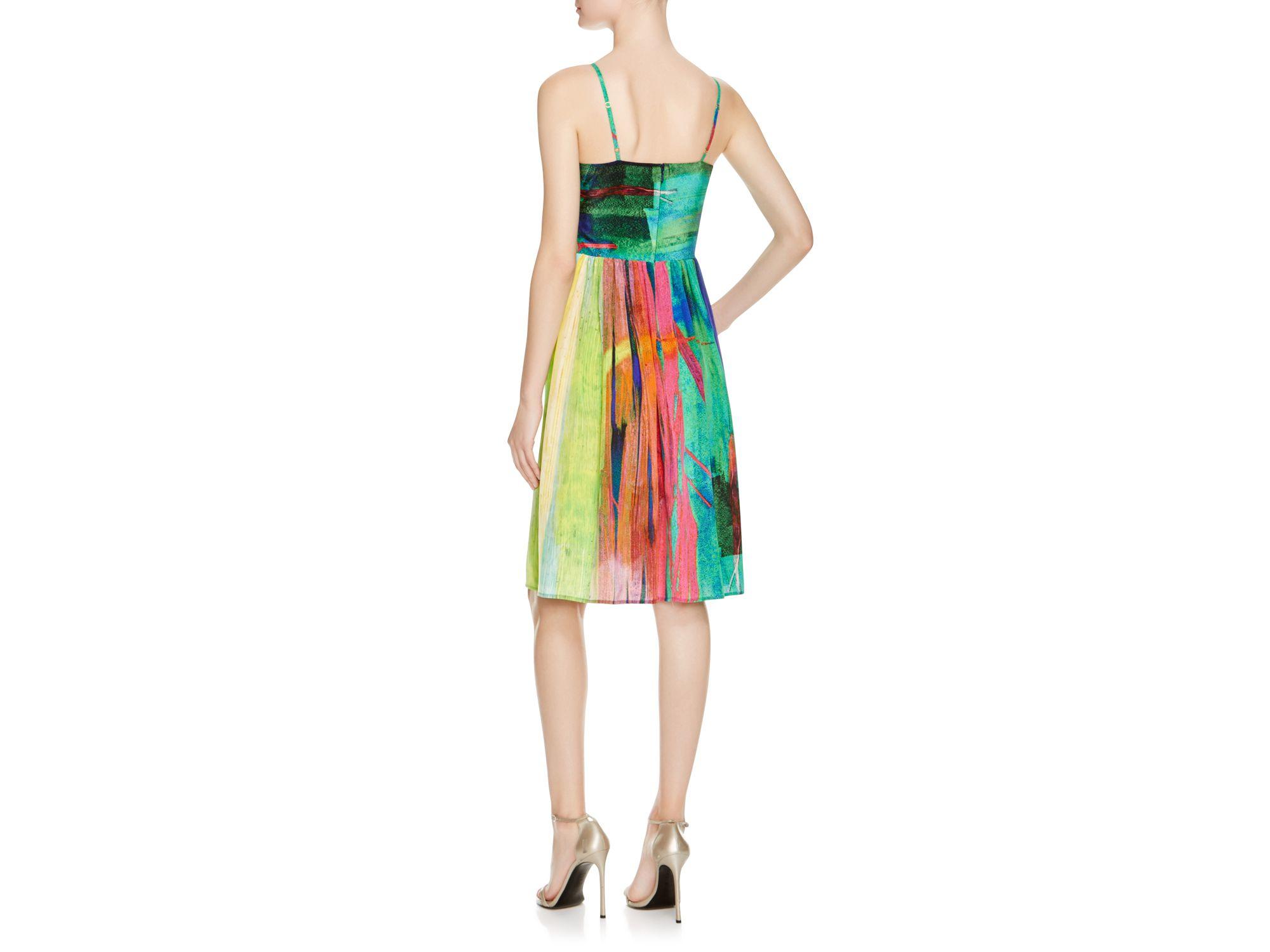 Lyst - Amanda Uprichard Dawn Silk Dress