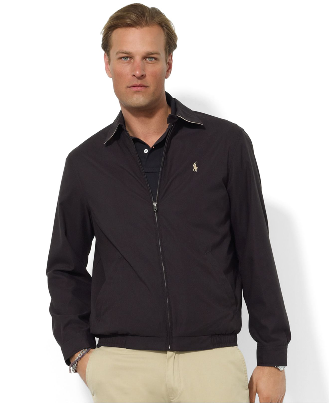 Polo ralph lauren Jacket, Core Classic Windbreaker in Blue for Men ...