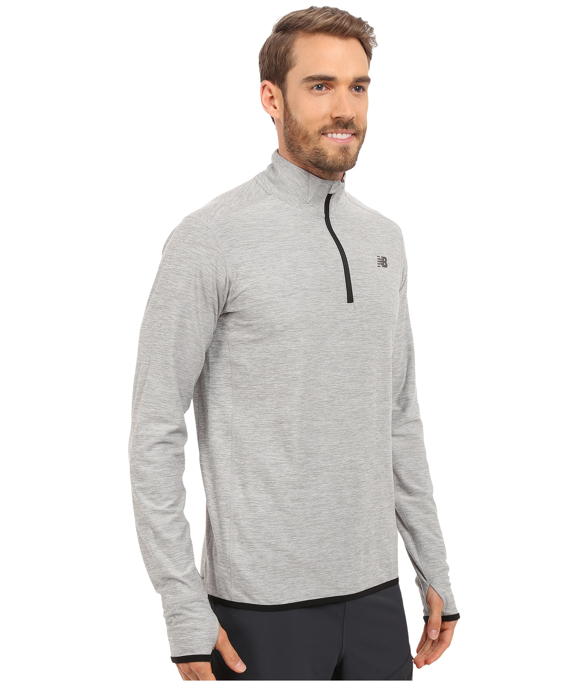new balance quarter zip