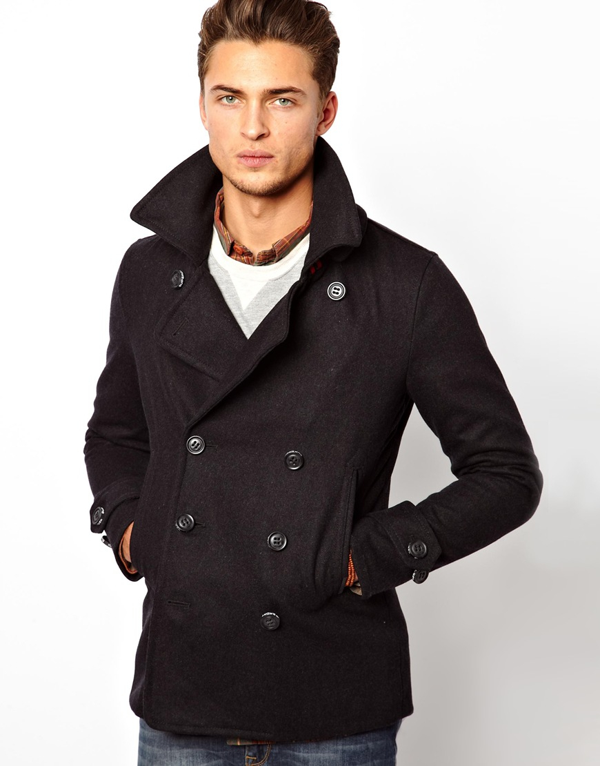 Superdry Commodity Slim Pea Coat Review - Tradingbasis