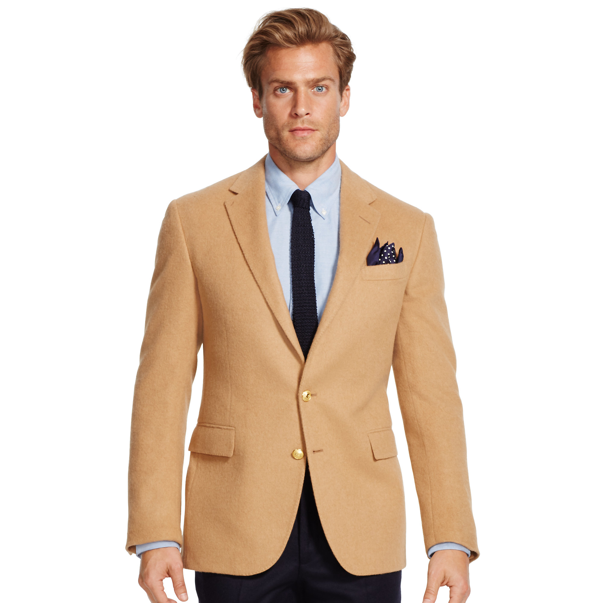 Polo ralph lauren Polo I Camel Hair Sport Coat in Natural for Men
