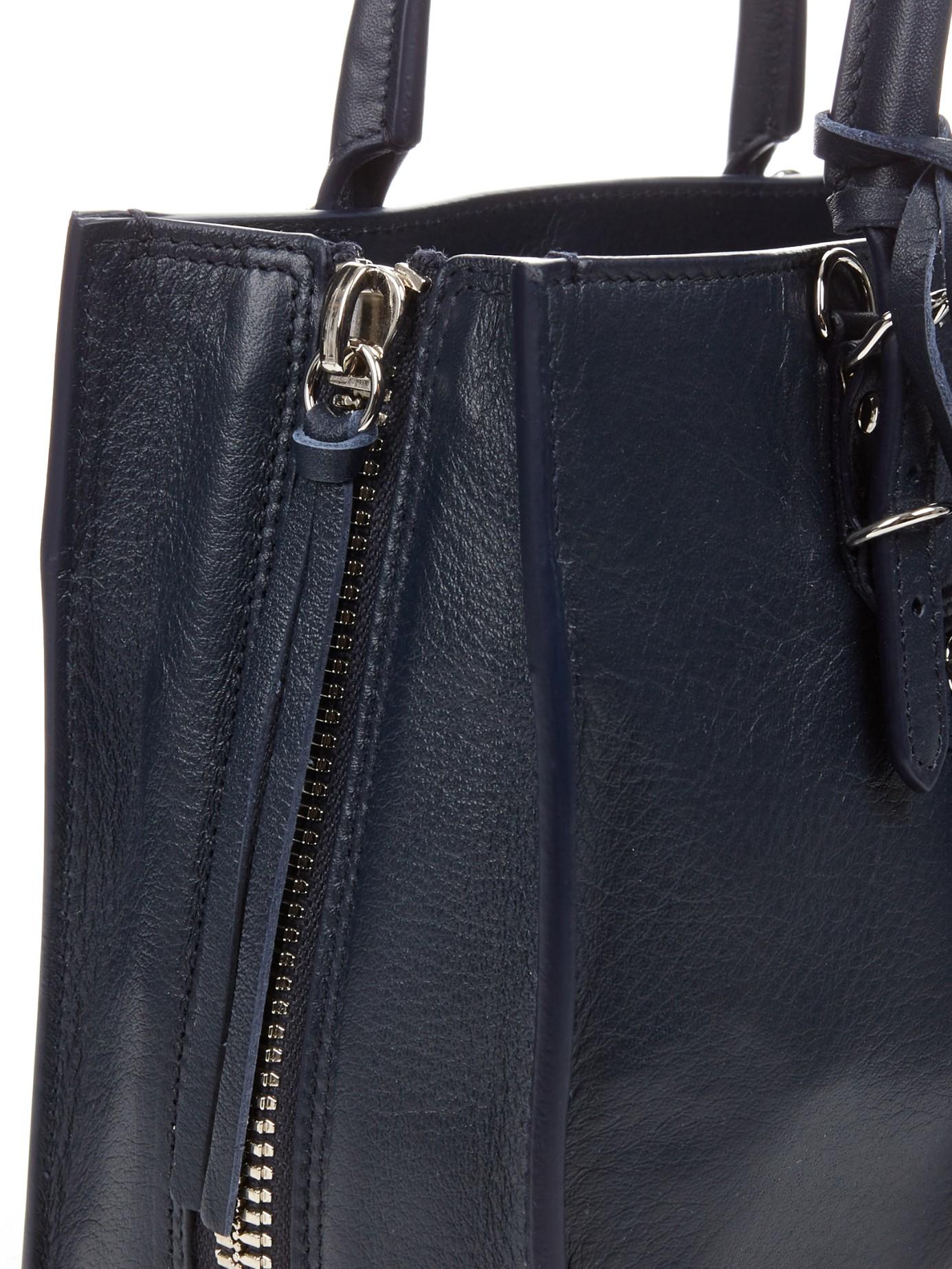 07b3523b730 Balenciaga Papier A4 Mini Cross-body Bag in Blue - Lyst