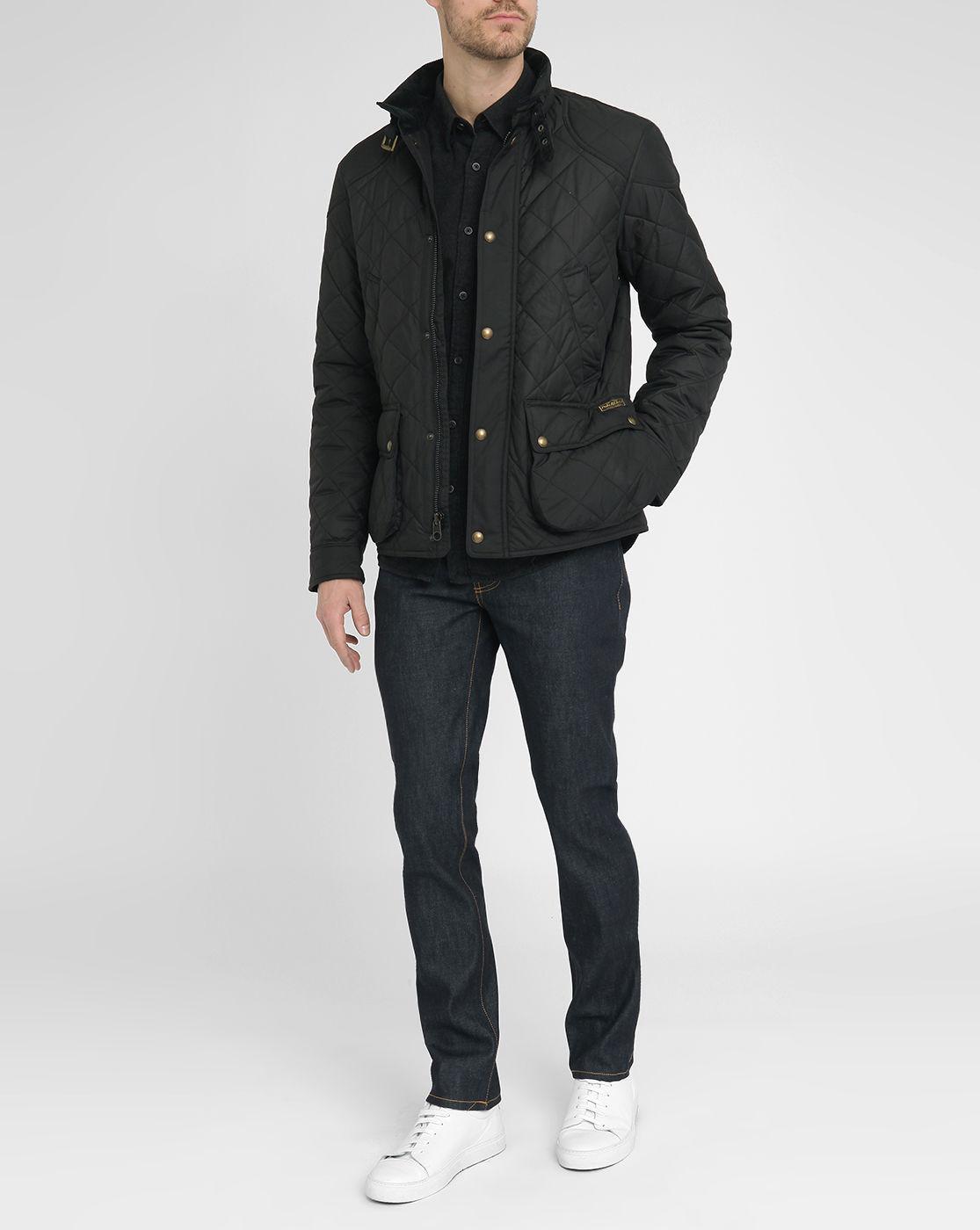 Ralph Lauren Men Down Mesh Jackets Black