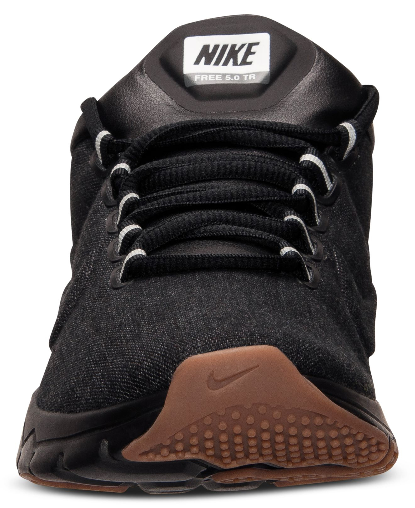 low priced defc3 d28e0 Lyst - Nike Men S Free Trainer 5.0 Premium Running Sneakers From Finish  Line in Black for Men