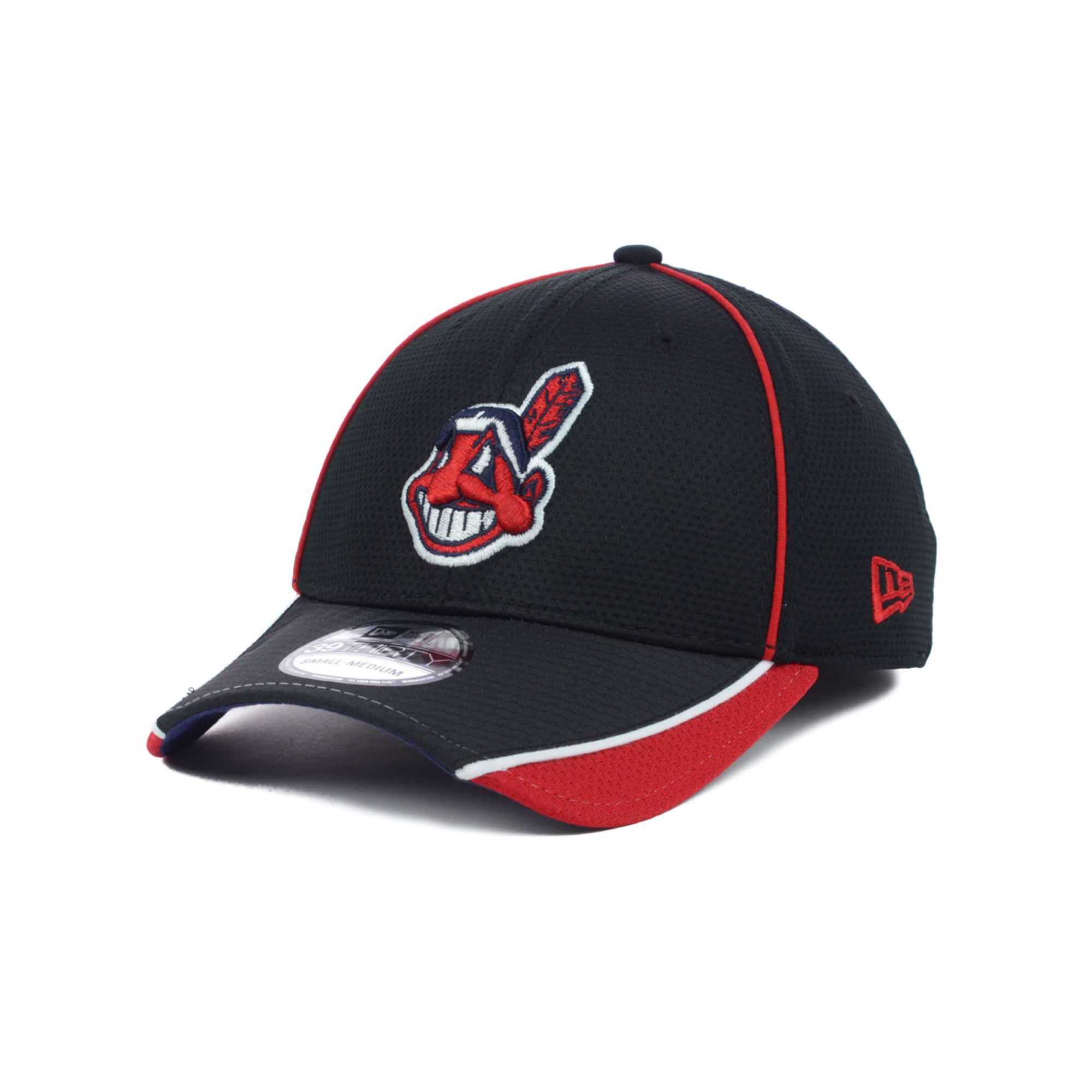 size 40 c7473 01daa ... coupon for lyst ktz cleveland indians mlb pipe slide 39thirty cap in  black 7cb45 e0163