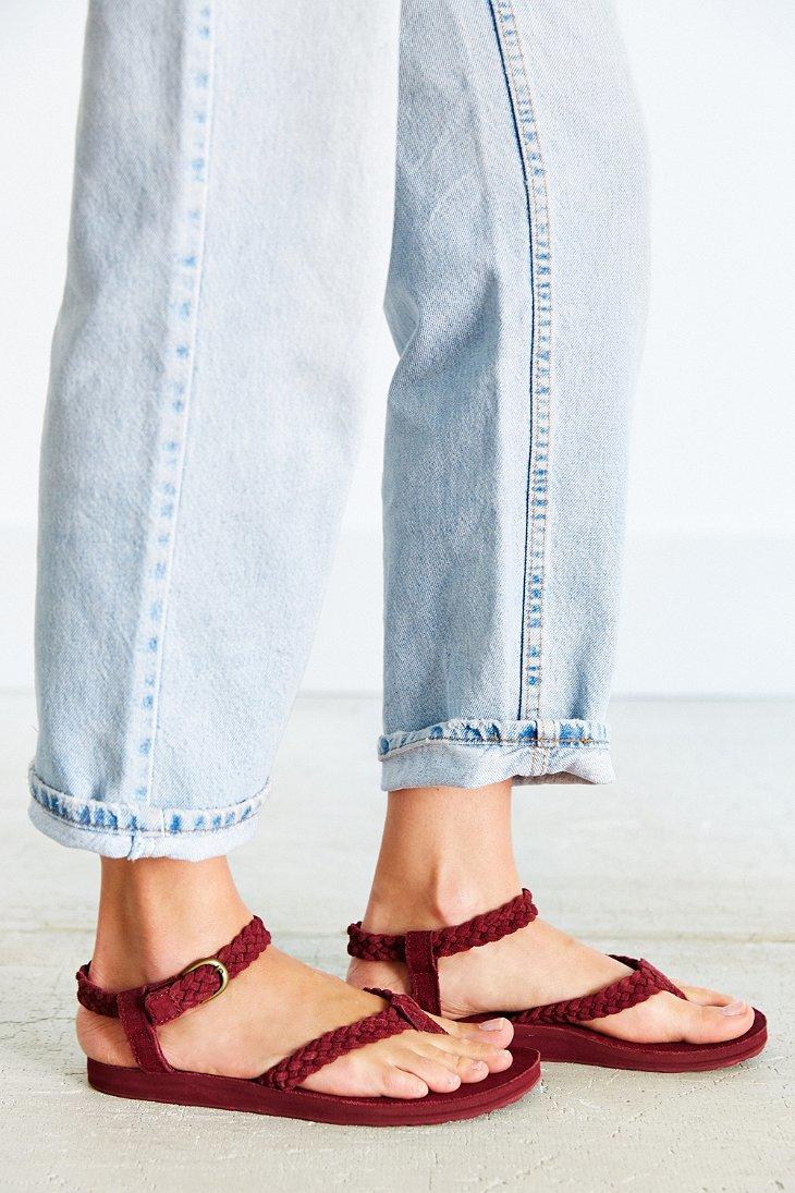 Teva Original Sandal Suede Braid awyCpFcV
