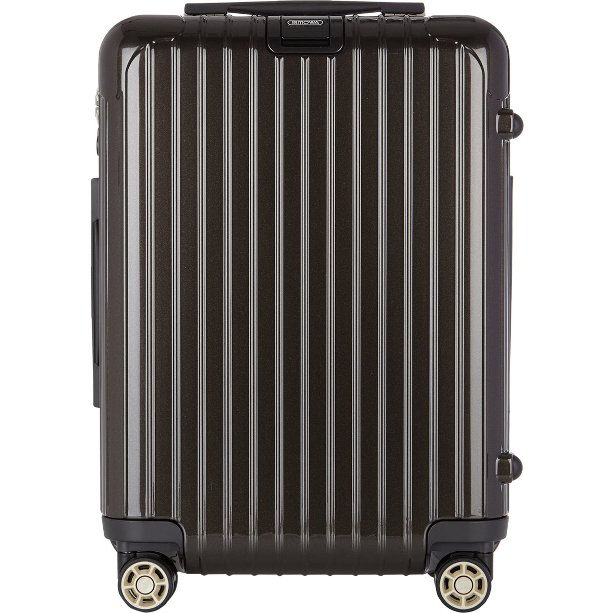 rimowa salsa deluxe 22 cabin multiwheel iata suitcase in gray for men lyst. Black Bedroom Furniture Sets. Home Design Ideas