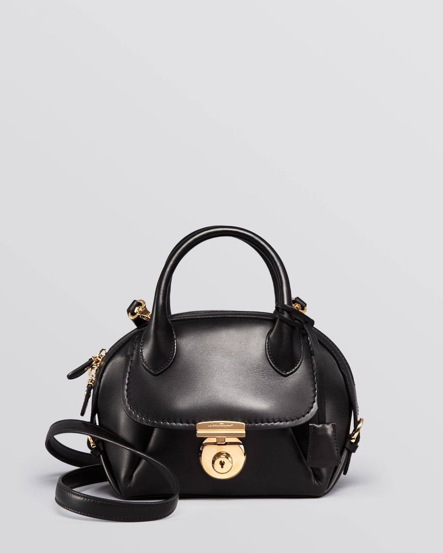 Lyst - Ferragamo Crossbody - Fiamma Mini in Black 833fd6a59c57d